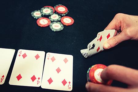 poker live straight draw