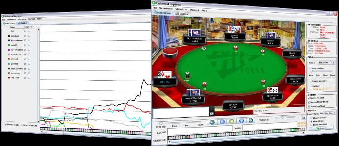 poker universal replayer review torneio